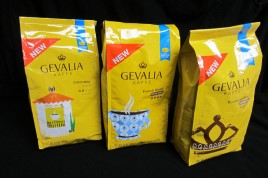 Gevalia coffee - ground and whole bean bags