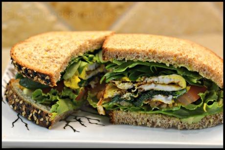 Breakfast sandwich 06