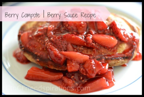 Strawberry Compote Sauce 07